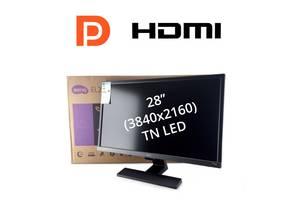 """Новый монитор Benq EL2870U / 28"""" (3840x2160) TN LED / 2x HDMI, 1x DP, 1x Audio port / встроенные динамики 2x 2W"""