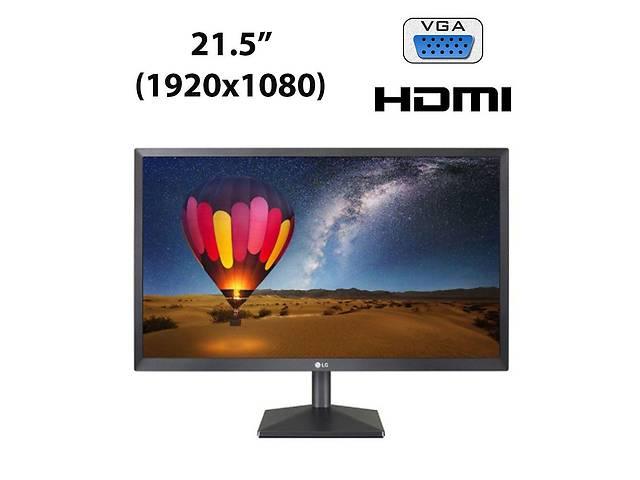 """купить бу Новый монитор LG 22MN430M-B / 21.5"""" (1920x1080) IPS LED / 2x HDMI, 1x VGA, 1x Audio Port Combo в Киеве"""