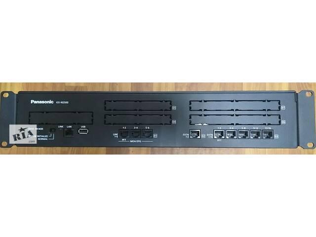 Panasonic KX-NS500UC, ip-атс, базова конфігурація + 10 зовнішніх sip-транків- объявление о продаже  в Киеве