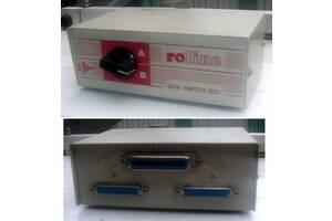 Перемикач LPTодин комп. - два принтери