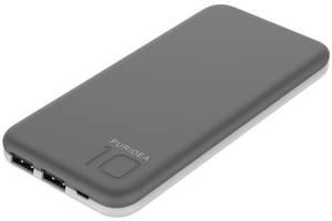 Портативное зарядное устройство Puridea S2 10000mAh Li-Pol Rubber Grey & White (6352470)