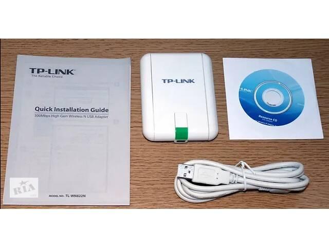 купить бу Продам Беспроводной адаптер TP-Link TL-WN822N в Одессе