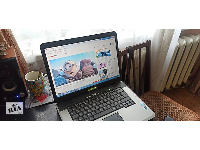 купить бу Продам ноутбук MEDION MD 98200 ,2gb\160gb,хороший робочий ноут. в Виннице