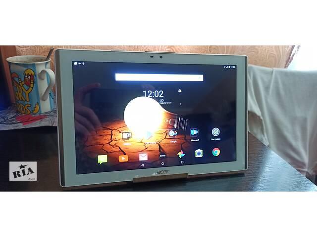 бу Продам планшет Acer Iconia 10.1,аndroid 7, LTE,Wi-Fi . в Виннице