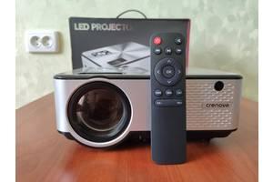 Проектор мультимедийный Crenova C9 silver. HD LED HDMI