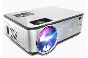 Проектор мультимедийный для домашнего кинотеатра презентаций Crenova LF1S с Wi-Fi Белый (gr_011694)