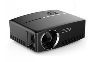 Проектор портативный мультимедийный для домашнего кинотеатра презентаций Led Projector Simple Beam Byintek SKY GP80 (...
