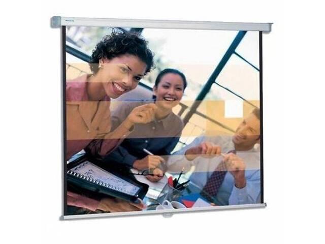 купить бу Проекционный экран SlimScreen MWS 200x200см Projecta (10200064) в Харькове