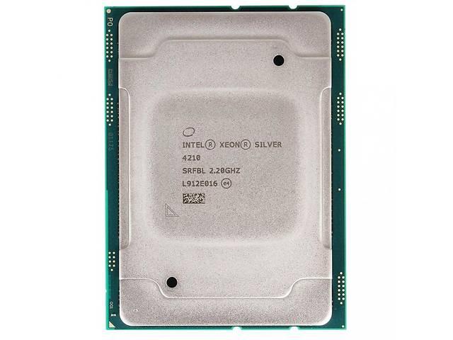 купить бу Процессор серверный Dell Xeon Silver 4210 10C/20T/2.20GHz/13.75MB/FCLGA3647/OEM (338-BSDG) в Киеве