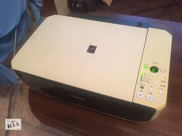 Принтер,сканер,копирует три в одном  Кэнон,цветной - объявление о продаже  в Кременчуге