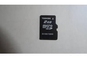 Рабочая Micro sd 2 gb флешка для смартфона