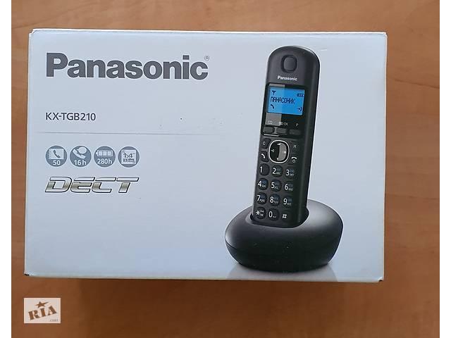 купить бу Радиотелефон DECT Panasonic KX TGB 210 UA в Черновцах