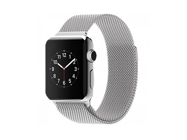 продам Ремешок для часов Milanese loop steel bracelet Apple watch, 42-44 мм. Silver бу в Запорожье