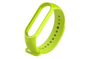 Ремешок для фитнес браслета Xiaomi Mi Band 5 Light green