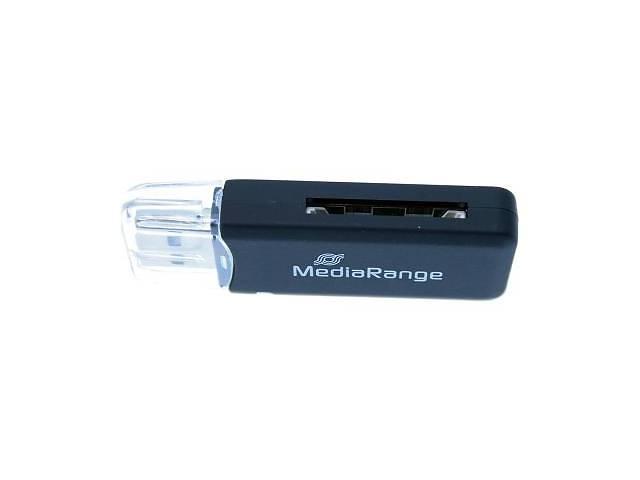 Считыватель флеш-карт MediaRange USB 2.0 black (MRCS506)- объявление о продаже  в Харькове