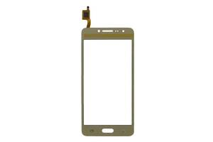 Сенсор (Touch screen) Samsung G532 Galaxy J2 Prime золотой