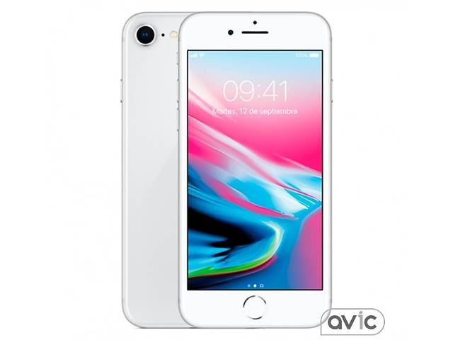 Смартфон Apple iPhone 8 64GB (Silver) (MQ6L2)