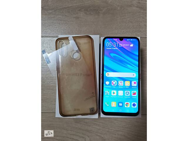 Смартфон Huawei P Smart 2019 (POT-LX1) Aura Blue dual sim
