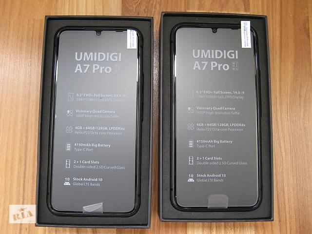 бу Смартфон UMIDIGI A7 Pro 4/64Gb, (Новинка 2020 года!) в Монастырище