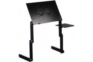 Столик для ноутбука ELaptop Table T8 Черный (vd93238328)