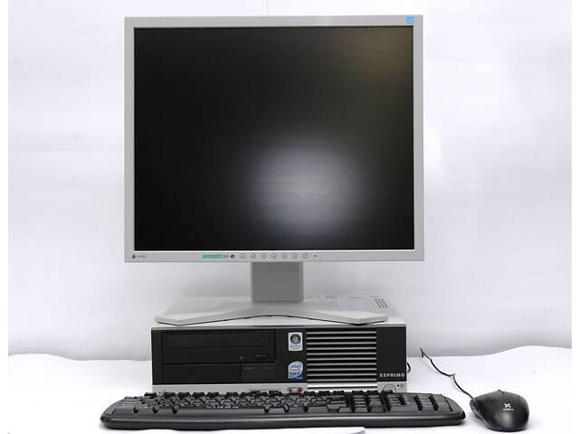 продам Системный блок Б/У Fujitsu E5915 SFF / Intel Pentium T4400 (2 ядра по 2.2 GHz) / 4 GB DDR2 / 250 GB HDD + Монитор Б/У... бу в Одессе