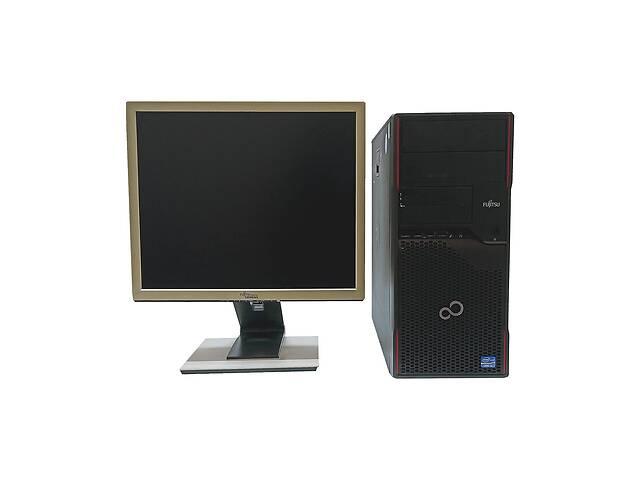 бу Системный блок Б/У Fujitsu Esprimo P710 MT / Intel Core i3-3220 (2(4) ядра по 3.30 GHz) / 8 GB DDR3 / 250 GB HDD + мо... в Одессе