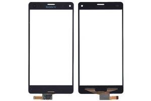 Тачскрин (Сенсорное стекло) для смартфона Sony Xperia Z3 Compact D5803, D5833 черный