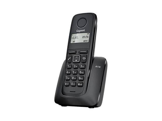 купить бу Телефон DECT Gigaset A116 Black (S30852H2801S301) в Харькове