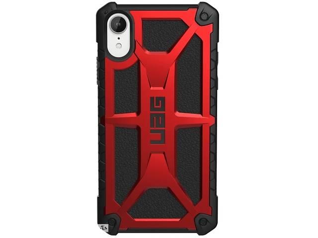 купить бу UAG Monarch Case для iPhone Xr%5bCrimson ()%5d G111091119494 в Киеве