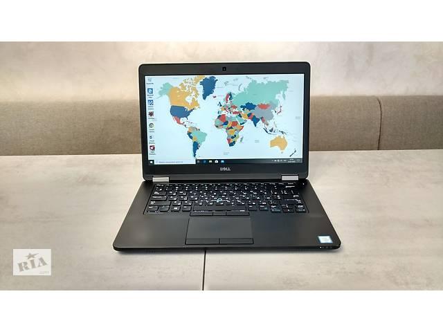 Ультрабук Dell Latitude E5470, 14'' FHD IPS, i5-6440HQ 4 ядра, 16GB DDR4, 180GB SSD. Гарантия. Перерасчет, наличные.- объявление о продаже  в Львове