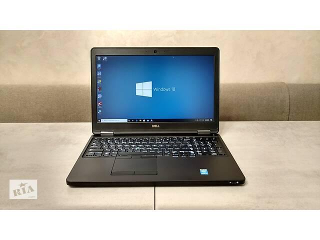 купить бу Ультрабук Dell Latitude E5550, 15,6'' FHD IPS, i7-5600U, 16GB, 180GB SSD. Гарантия. Перерасчет, наличные. в Львове