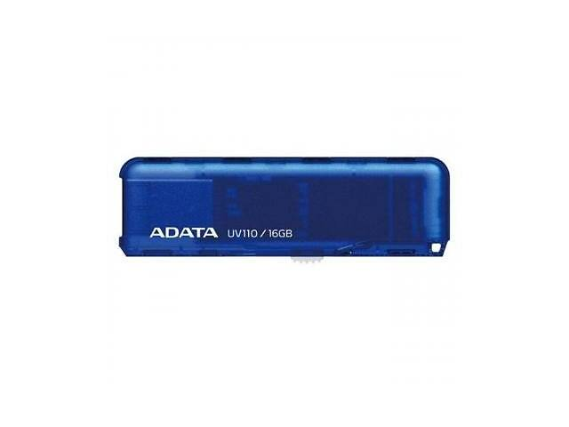 бу USB флеш накопитель ADATA 16GB UV110 Blue USB 2.0 (AUV110-16G-RBL) в Харькове