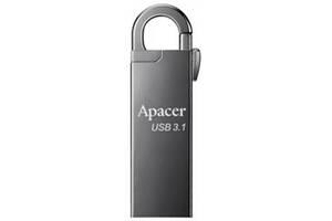 USB флеш накопитель Apacer 128GB AH15A Ashy USB 3.1 (AP128GAH15AA-1)