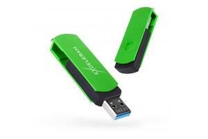 USB флеш накопитель eXceleram 128GB P2 Series Green/Black USB 3.1 Gen 1 (EXP2U3GRB128)