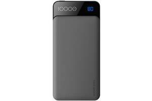 Внешний аккумулятор Power bank Rock Space P39 10000 mah with Digital Display Gray