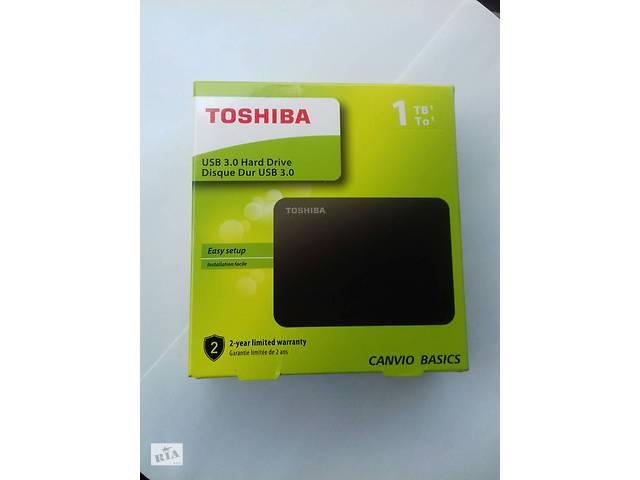 Внешний жесткий диск Toshiba Canvio Basics 1 TB USB 3.0 Hard Drive- объявление о продаже  в Стрию