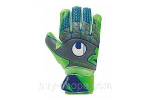 Вратарские перчатки Uhlsport Tensiongreen Soft Pro Size 9 Green/Blue