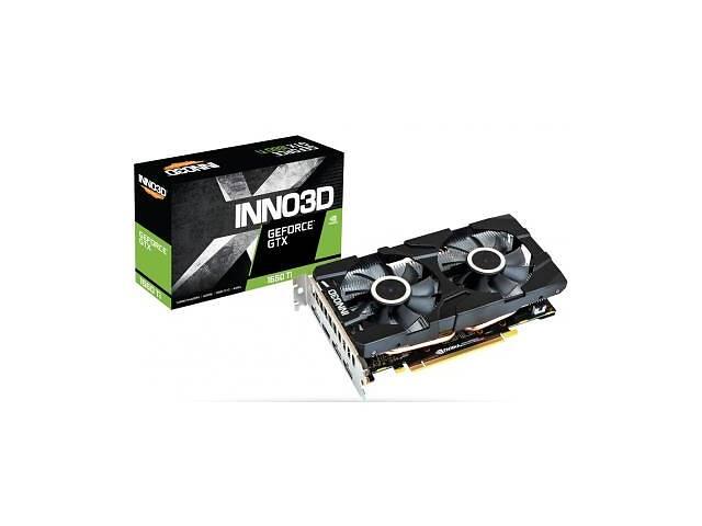 продам Видеокарта INNO3D GeForce GTX1660 Ti 6144Mb Twin X2 (N166T2-06D6-1710VA15) бу в Харькове