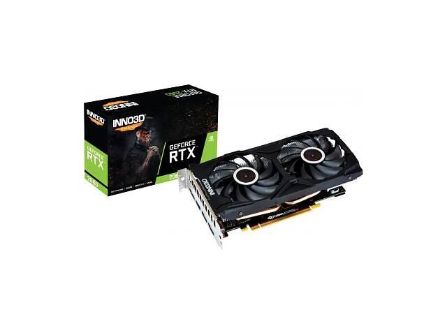 продам Видеокарта INNO3D GeForce RTX2060 6144Mb TWIN X2 (N20602-06D6-1710VA15L) бу в Харькове