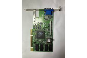 Видеокарта VGA карта ATI 3D Rage IIC AGP, 8MB, p / n: 109-48300-00, OEM