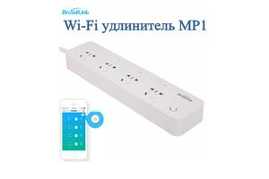 WI FI выключатель BroadLink МР1 на 4 слота с таймером Смарт удлинитель
