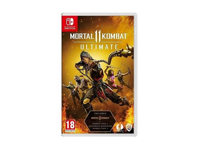 продам Гра Nintendo Mortal Kombat 11 Ultimate (NS174) бу в Харкові