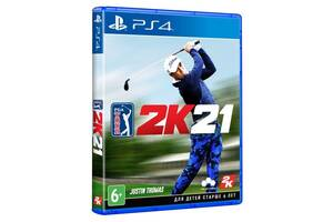 Игра PGA Tour 2K21 (PS4, Английский язык)