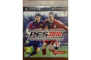 Игра Pro Evolution Soccer 2010 (PES 2010) для Playstation 3