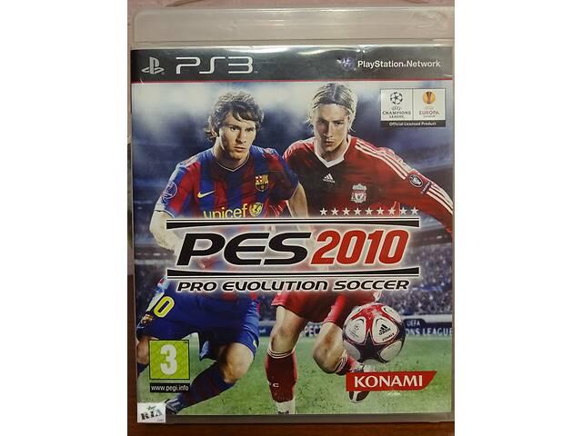 продам Игра Pro Evolution Soccer 2010 (PES 2010) для Playstation 3 бу в Киеве