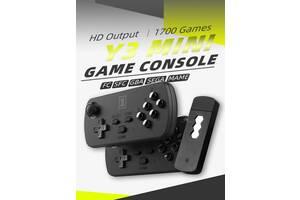 Игровая Беспроводная HDMI Приставка DATA FROG Y3 Mini 1700+1300 игр на русском