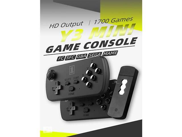 продам Игровая Беспроводная HDMI Приставка DATA FROG Y3 Mini 1700+1300 игр на русском бу в Полтаве