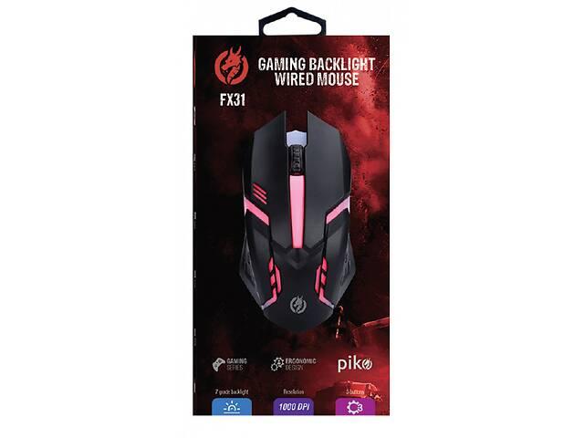 купить бу Игровая мышь Piko FX31 USB (новая,гарантия 6 мес) в Полтаве