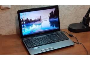 Игровой 4-ядерный ноутбук Toshiba Sattelite L755D, компьютер
