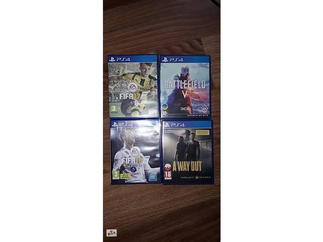 игры на PS4- объявление о продаже  в Русской Лозовой